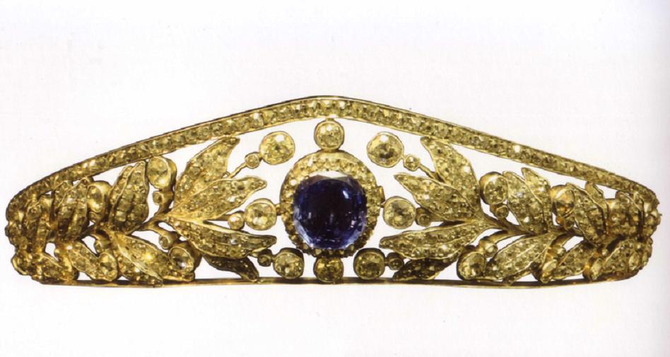 Nassau Sapphire Tiara