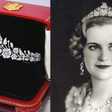 Platinum and Diamond Tiara