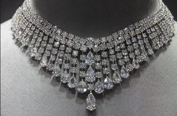 Gorgeous Diamond Choker Necklace by Graff Diamonds