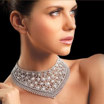 An Exquisite Collection of Diamond Choker Necklaces