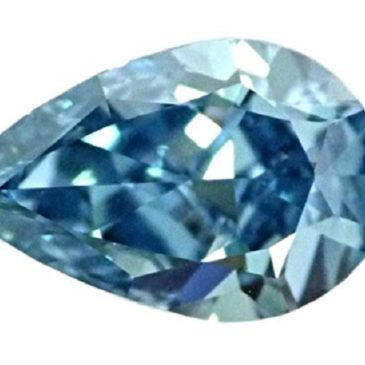 Gorgeous 1.50 Carat Fancy Vivid Blue Flawless Natural Diamond GIA Certified
