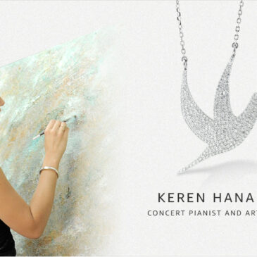 Internationally acclaimed Concert Pianist and Artist Keren Hanan