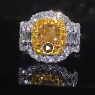 Gorgeous Yellow Diamond Rings