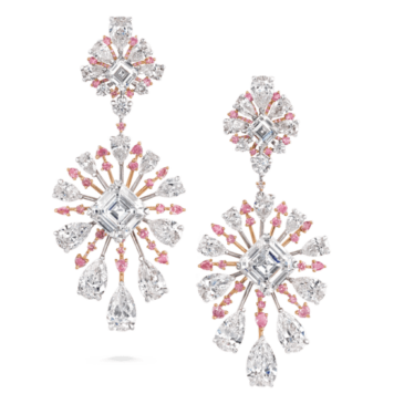 Pink Diamond Radiance Earrings