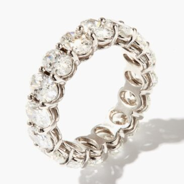 Shay Diamond & 18kt White-gold Ring