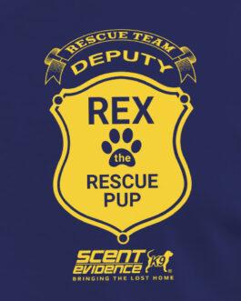 Rex Rescue Team Deputy T-Shirt