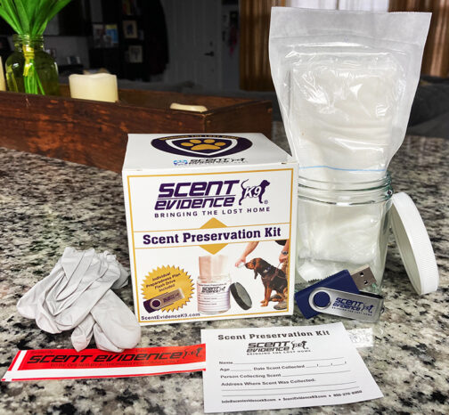 The Scent Kit by Scent Evidence K9