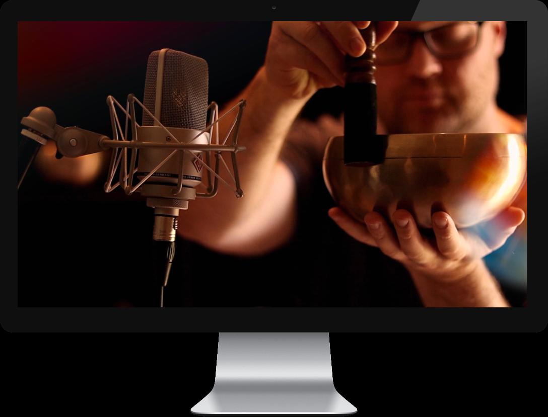 Chris on iMac Computer