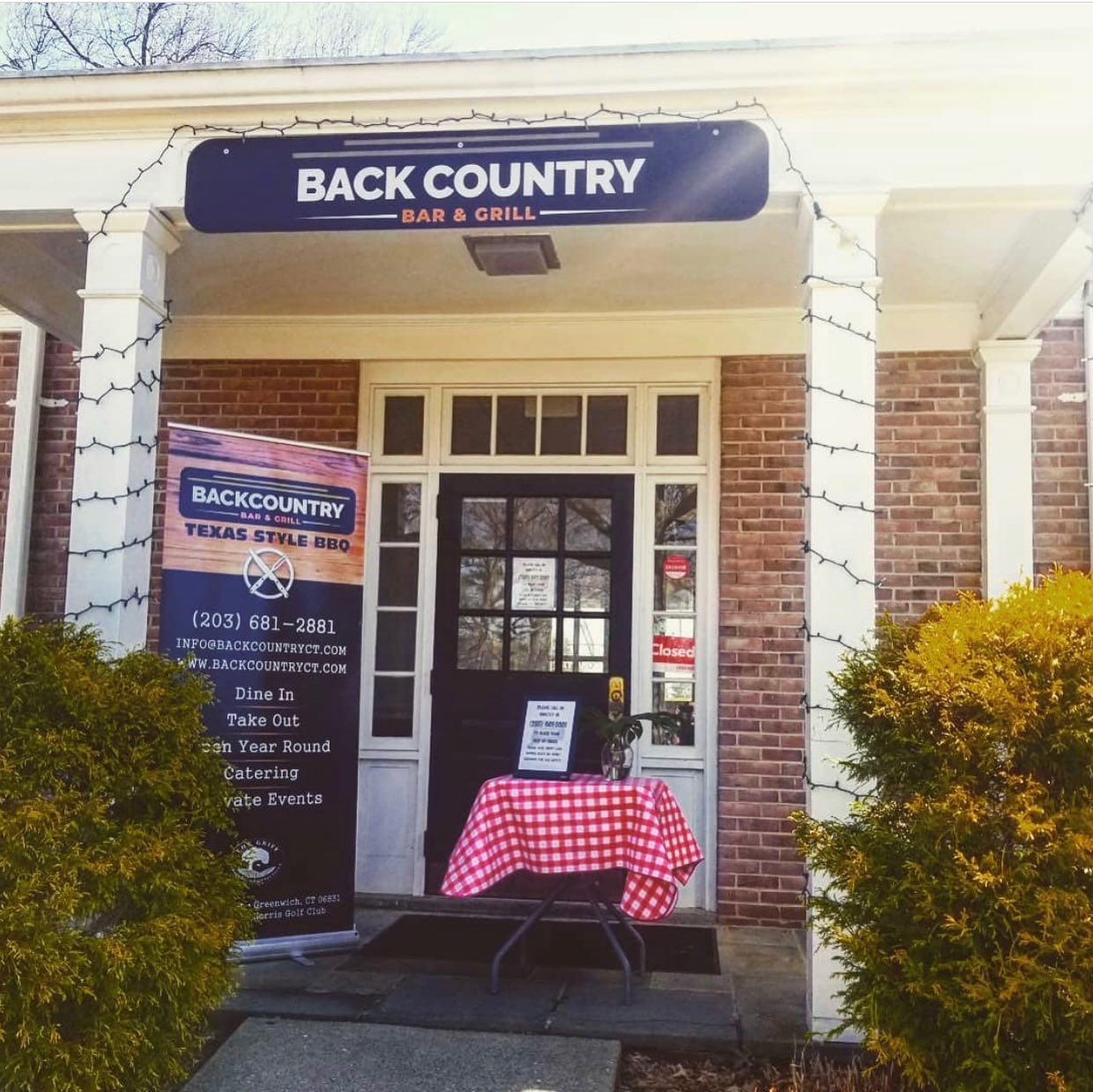 New Restaurant in Greenwich: Backcountry Bar and Grill