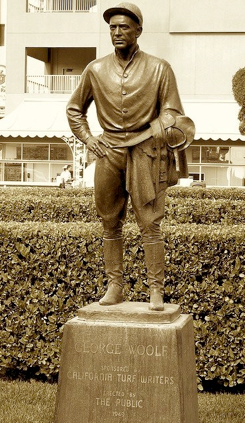 statute of George Wolf