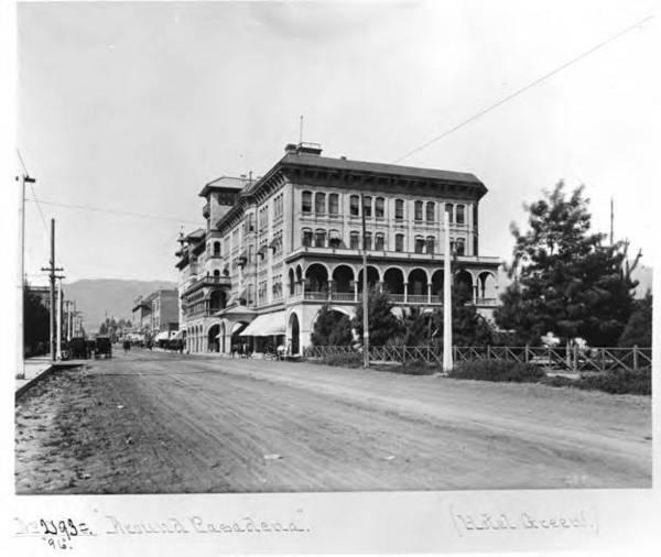 Castle Green Hotel Pasadena 1896