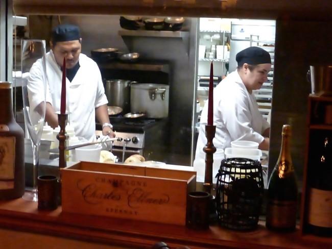 Delius Restaurant Kitchen