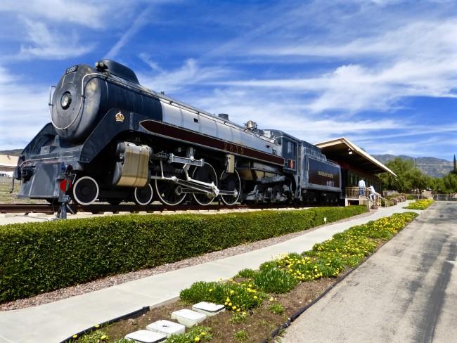 Nethercutt Museum Locomotive