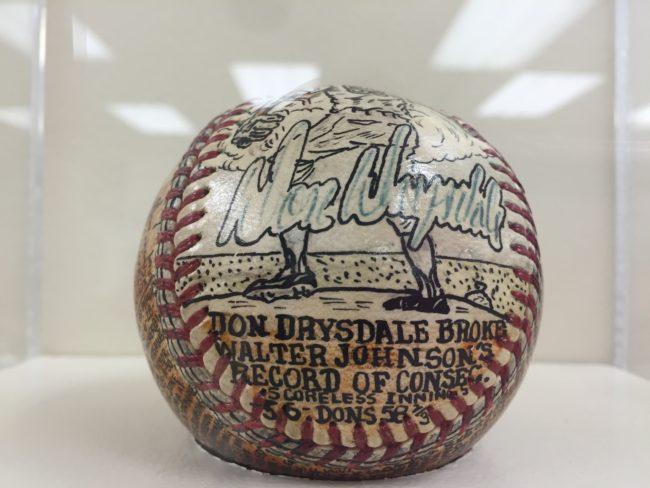 16 Drysdale ball