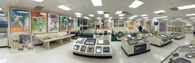 Interior - Sports Museum of Los Angeles