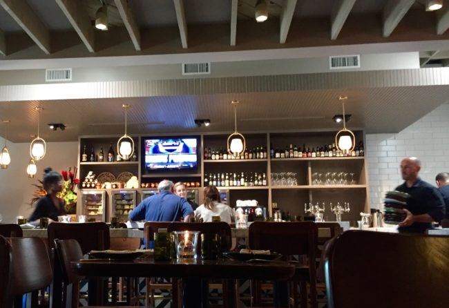 Forma Santa Monica bar area