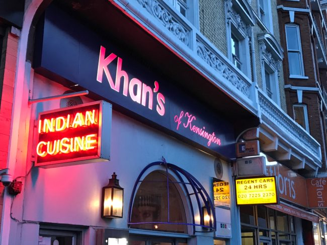 Khan's of Kensington