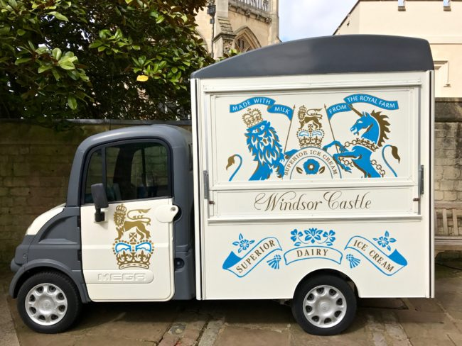 Windsor Castle Ice Cream Truck