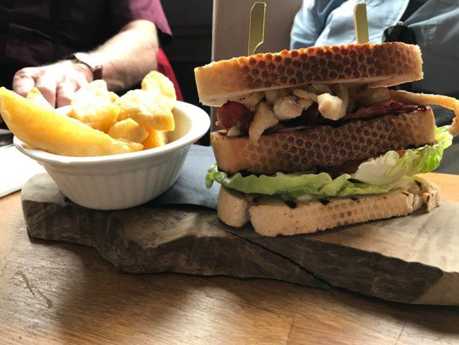 Eaton Mess Club Sandwich