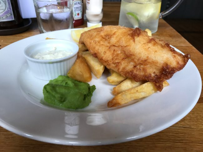 Eaton Mess Fish and Chips