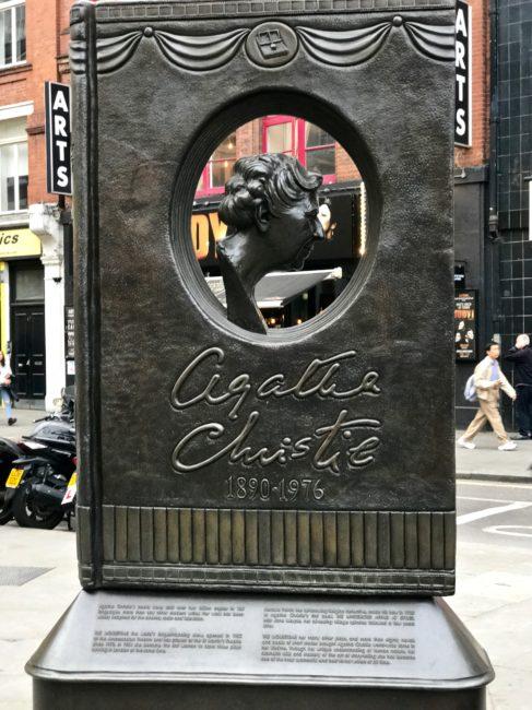 Agatha Christie Memorial Photo