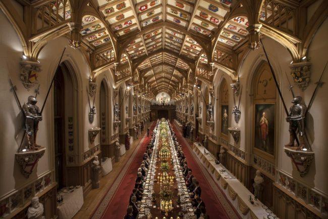 St. George's Hall Windsor Castle