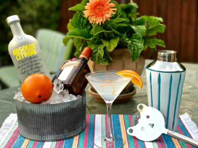 Citrus Vodka Martini: The Tomtini