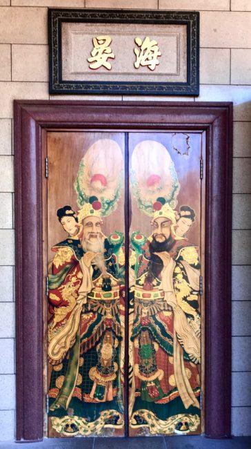 thien hau temple doors