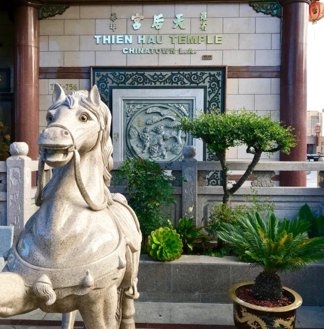 thien hau temple Chinatown L.A.