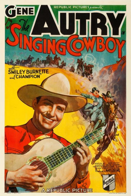 Gene Autry the Singing Cowboy Poster