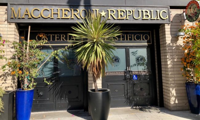 Maccheroni Republic Exterior Photo