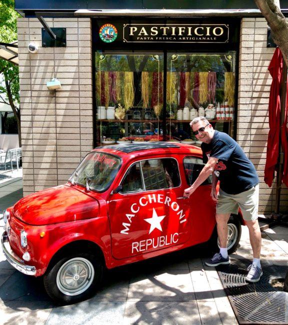 Maccheroni Republic Little Red Car