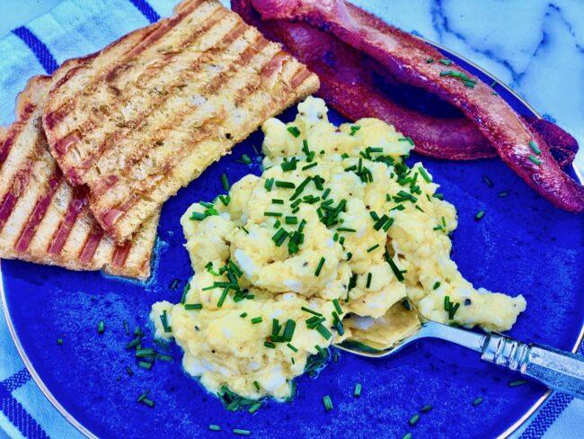 Bobby Flay Scrambled Eggs