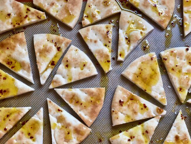 Toasted Pita Wedges