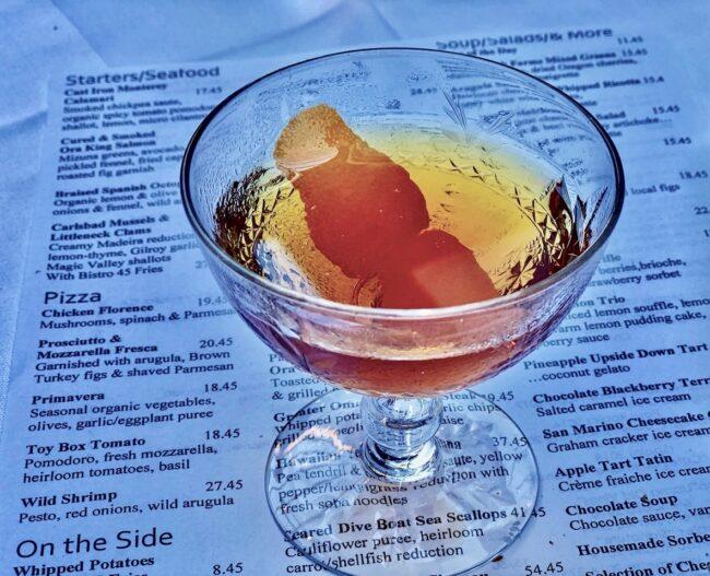 Vieux Carre cocktails