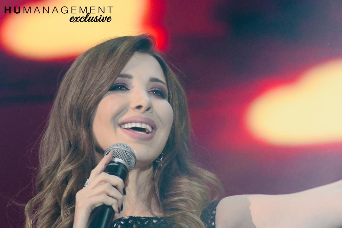 نانسي عجرم تشعل أجواء العيد...وسيف نبيل للمرة الأولى في دبي...والحضور بالآلاف!