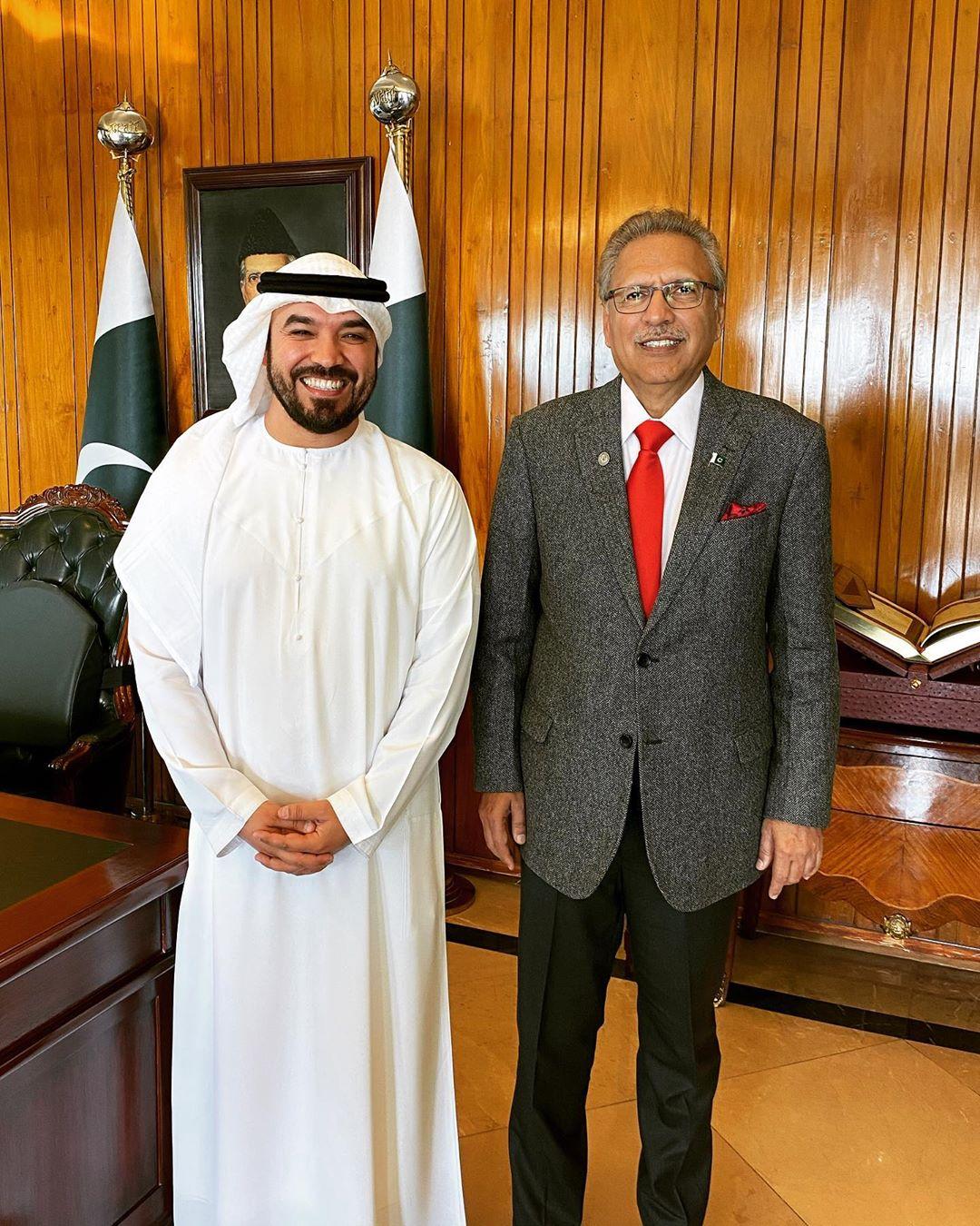 خالد العامري يلتقي الرئيس الباكستاني…وجولة شيّقة في الباكستان!