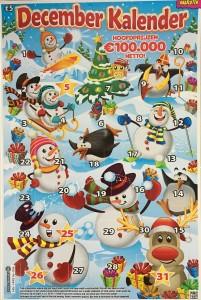 kraskaart december