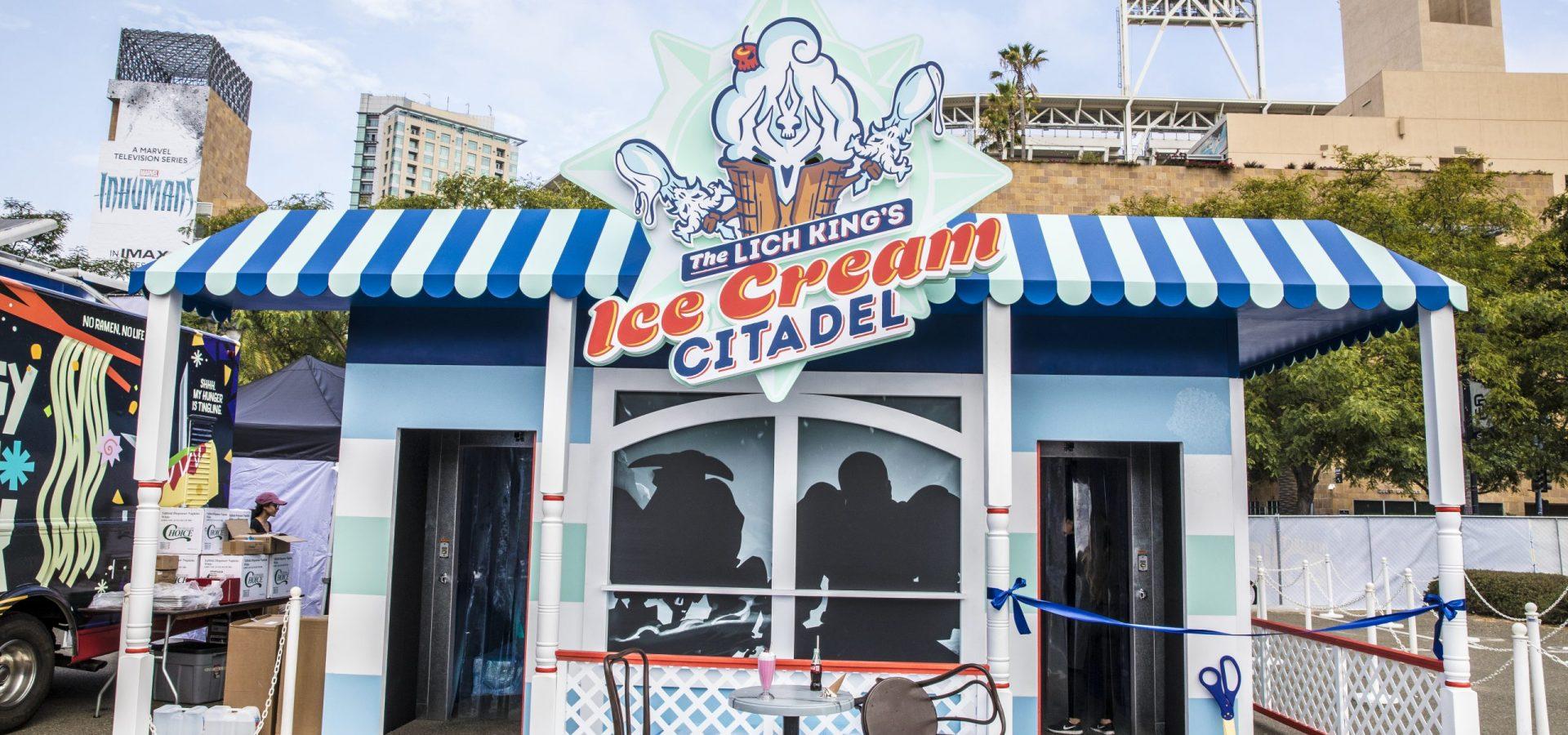 blizzard sdcc ice cream citadel