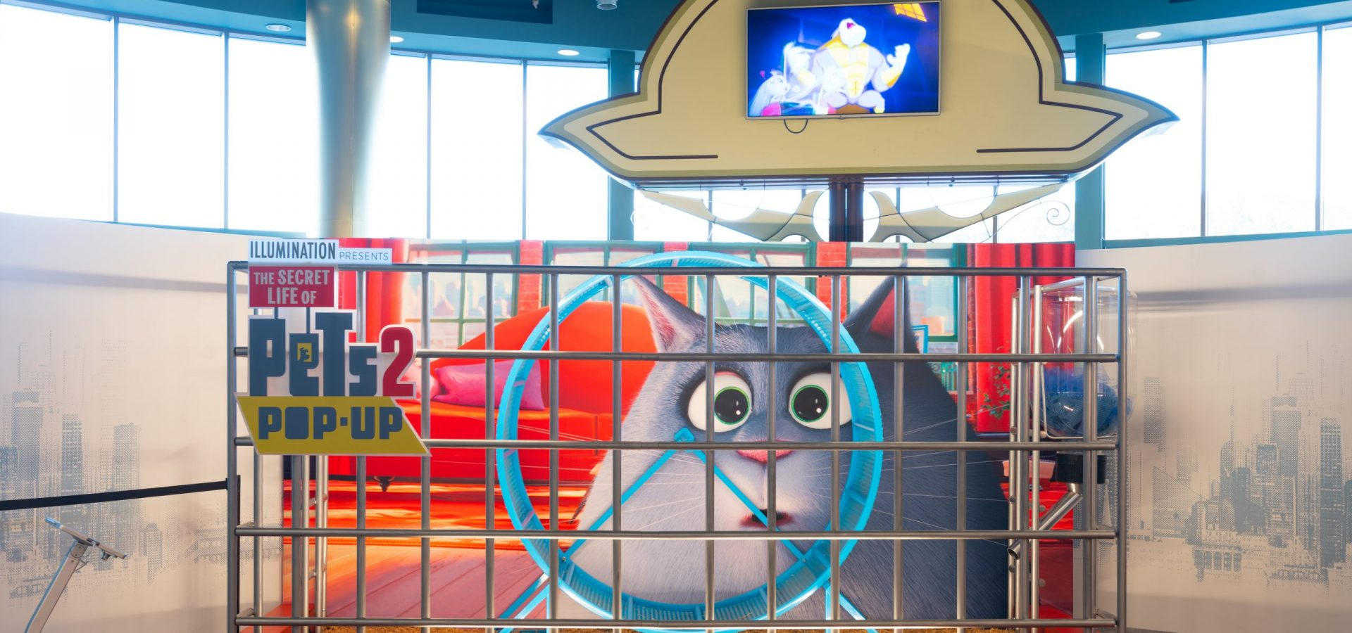 secret life of pets pop up hamster cage