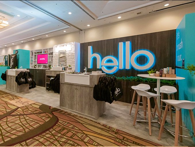 NPEW Hello Toothpaste Booth
