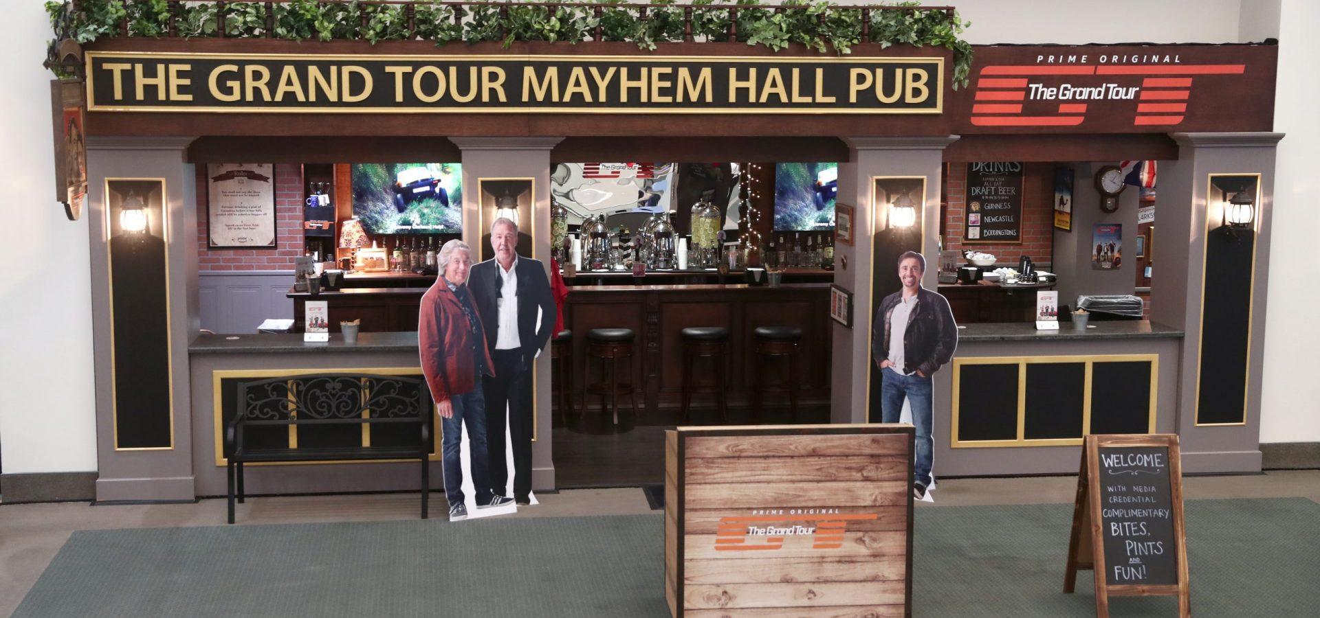 Grand Tour Mayhem Hall Pub