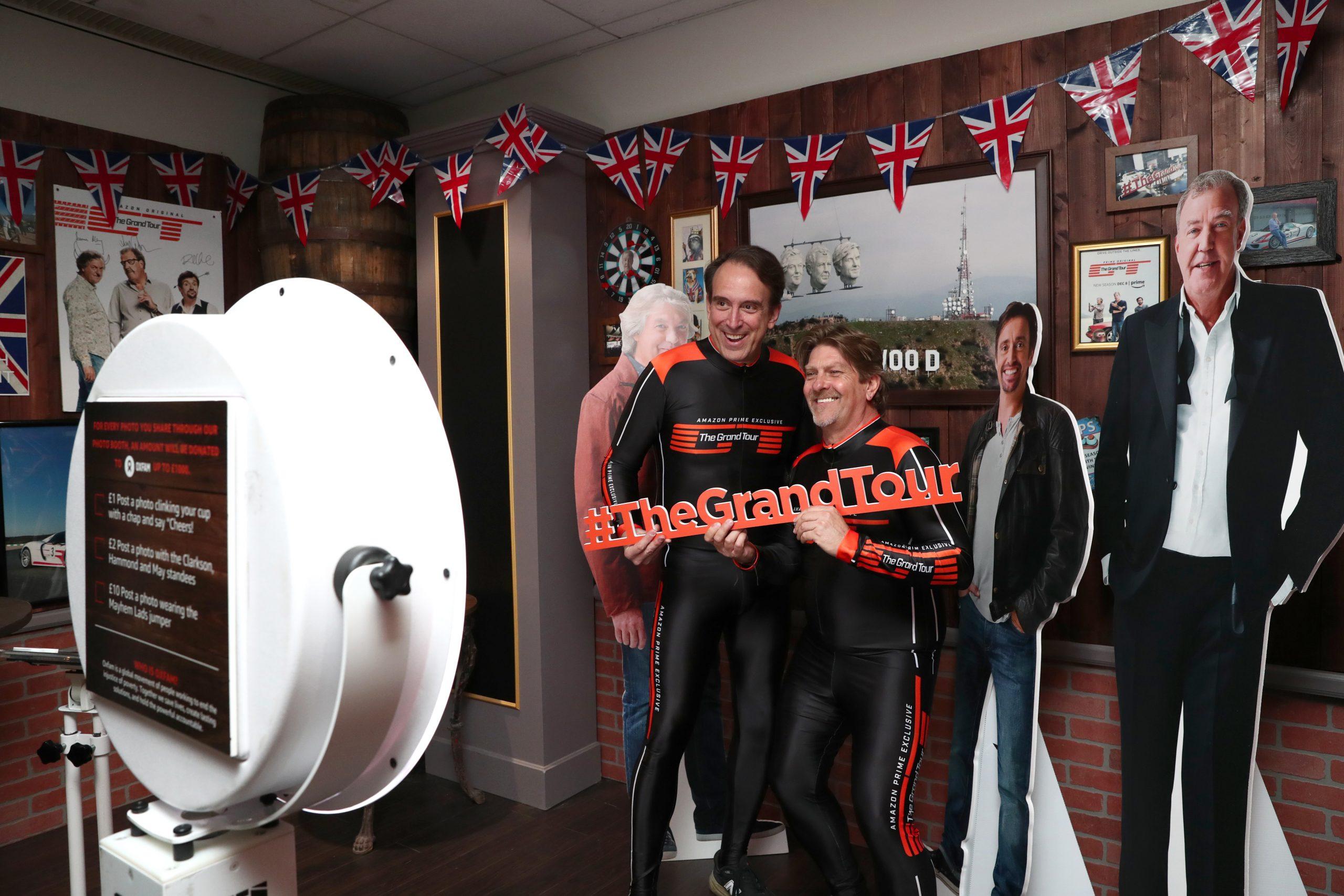 Grand Tour Mayhem Hall Pub Photo Op