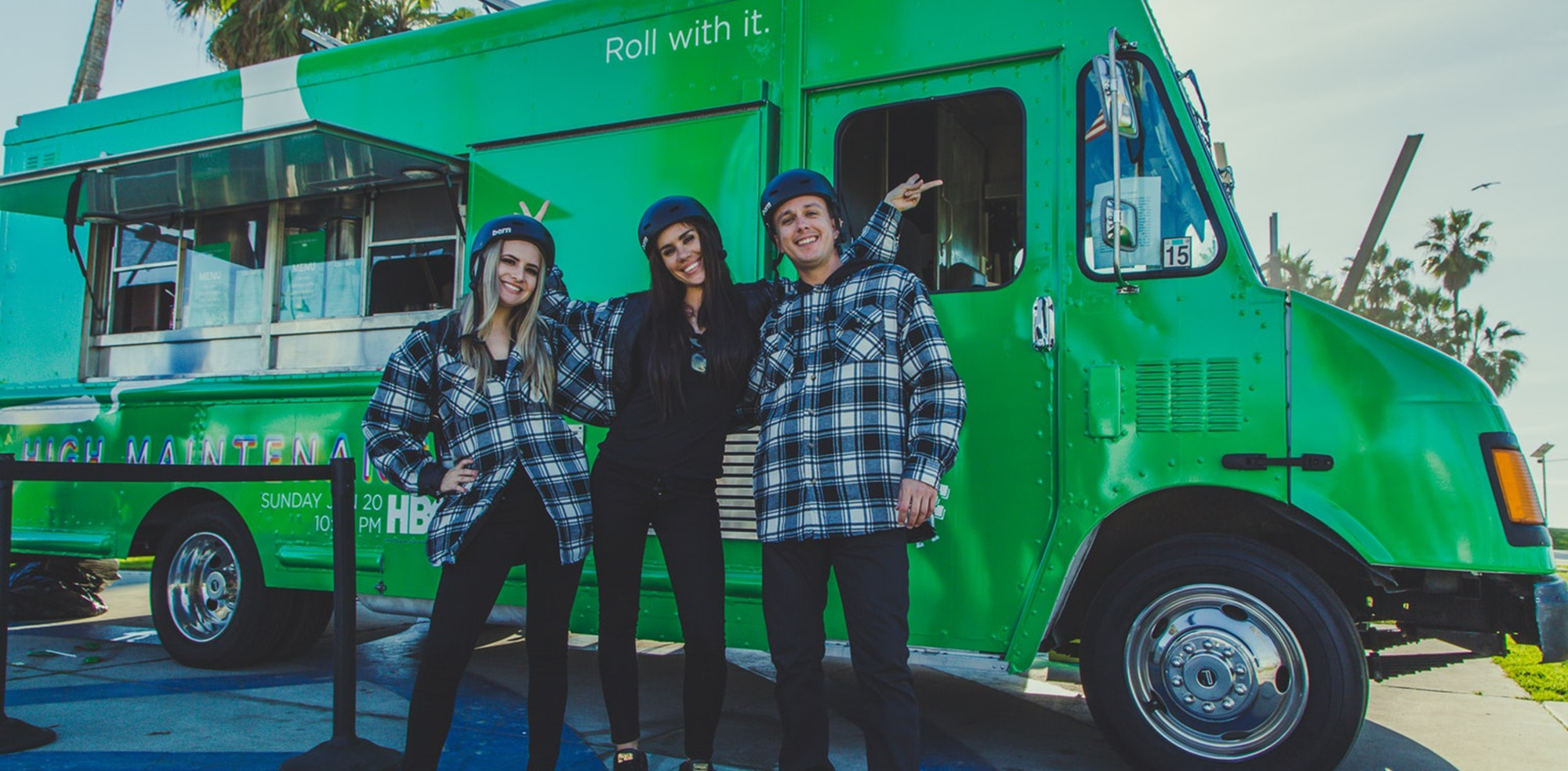 HBO High Maintenance BCD Oil Food Truck