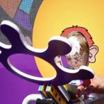 San Diego Comic-Con Pie Face Cartoon Network