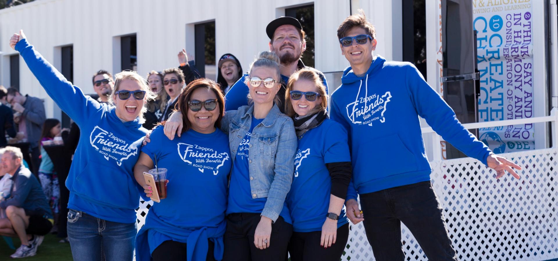 Zappos - Tour Friends