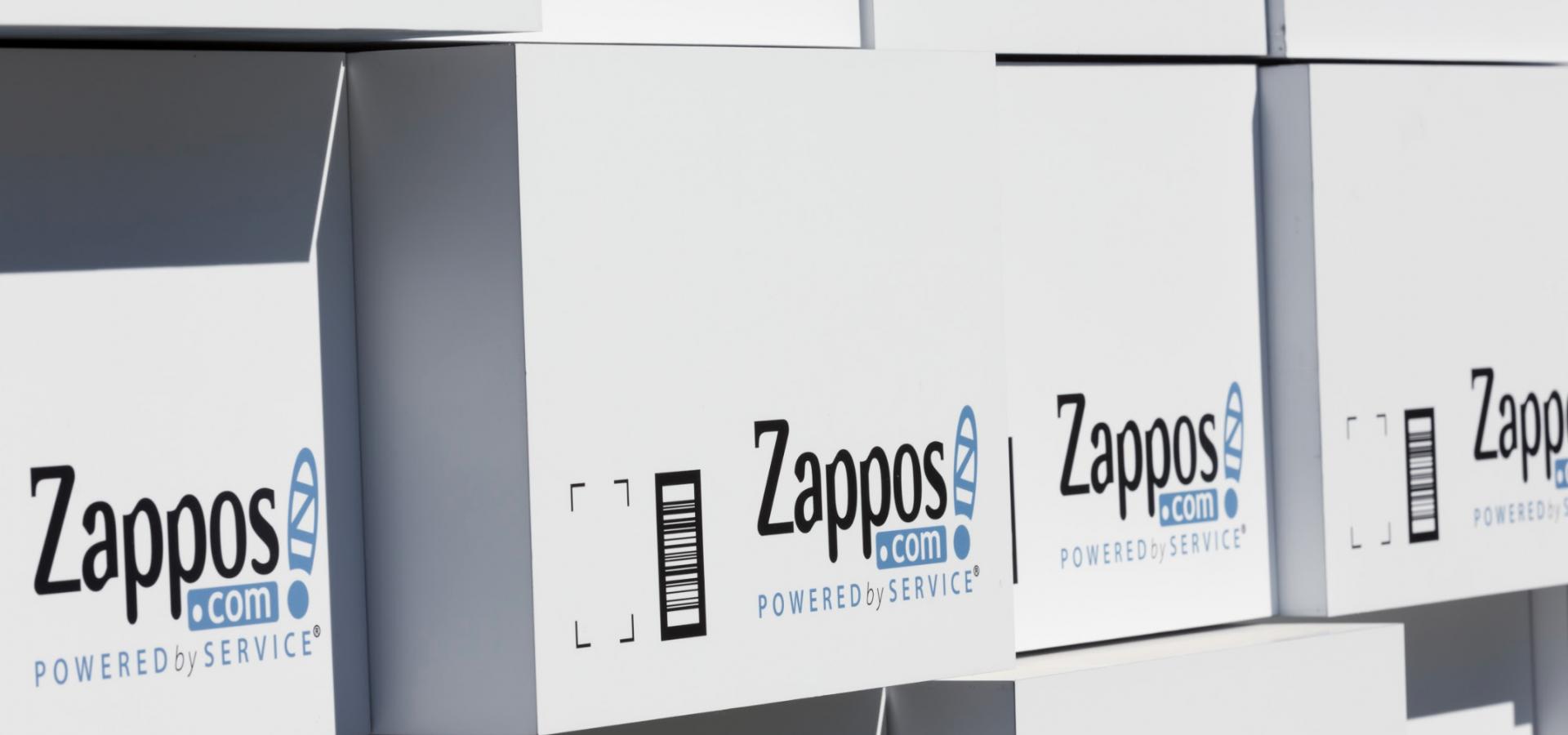 Zappos - Tour Kinnetic Wall