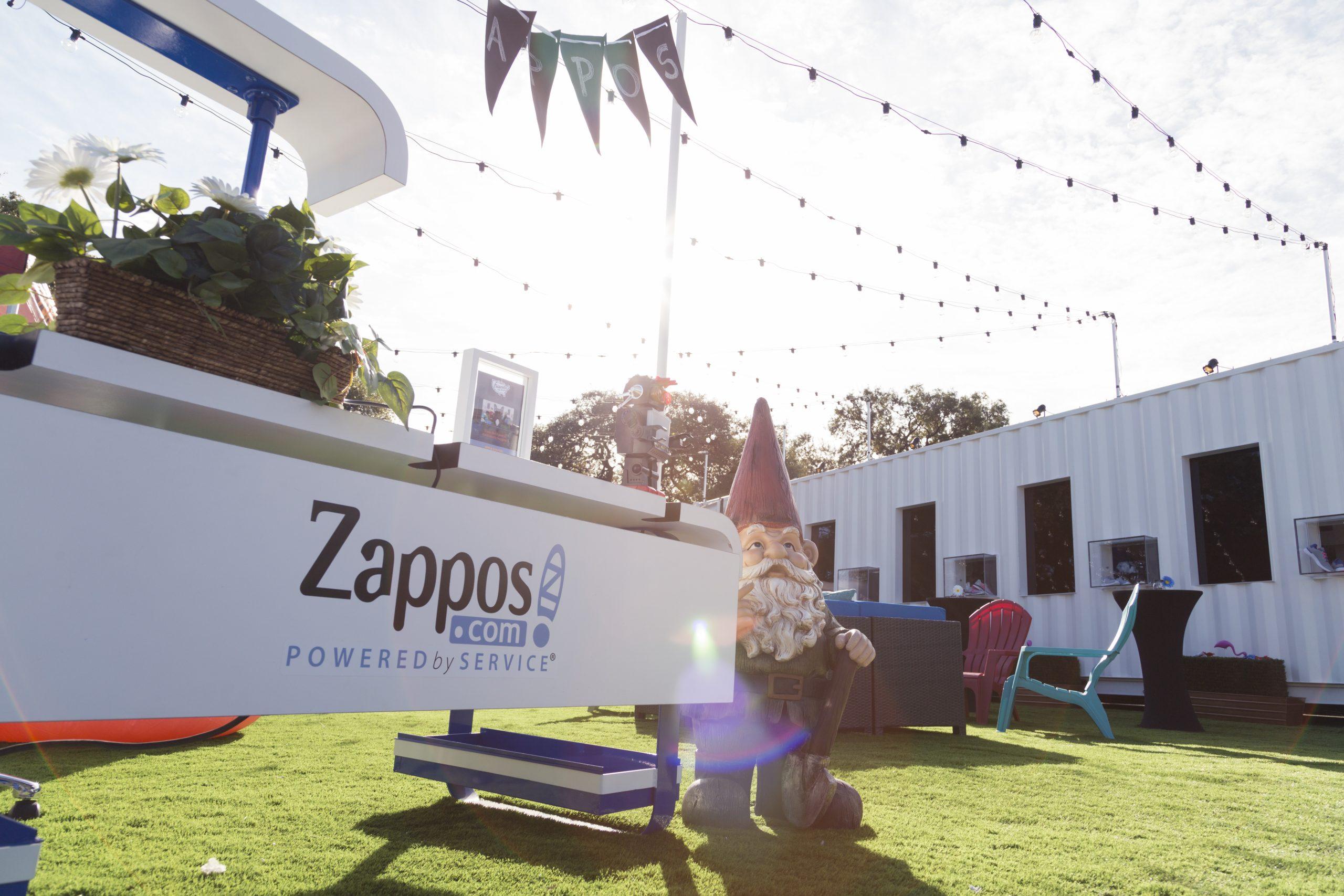 zappos Tour Gnome