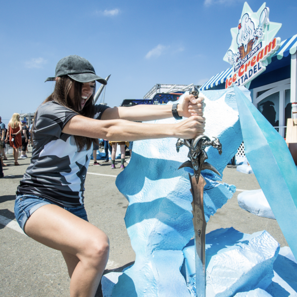 Blizzard - SDCC - Ice Cream Citadel - Experiential
