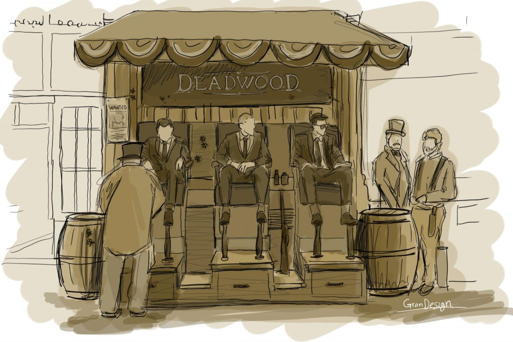 HBO Deadwood Sketch - GDX Studios